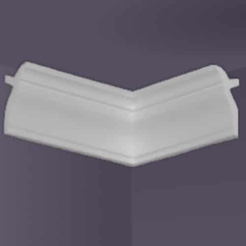 Flat Back | Inside Corner | Foam Crown Molding