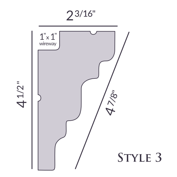 Style 3 | 4 1/2"