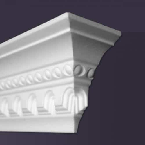 Style CCM23 | Dead End Squared, Right | Foam Molding | Foam Crown Molding