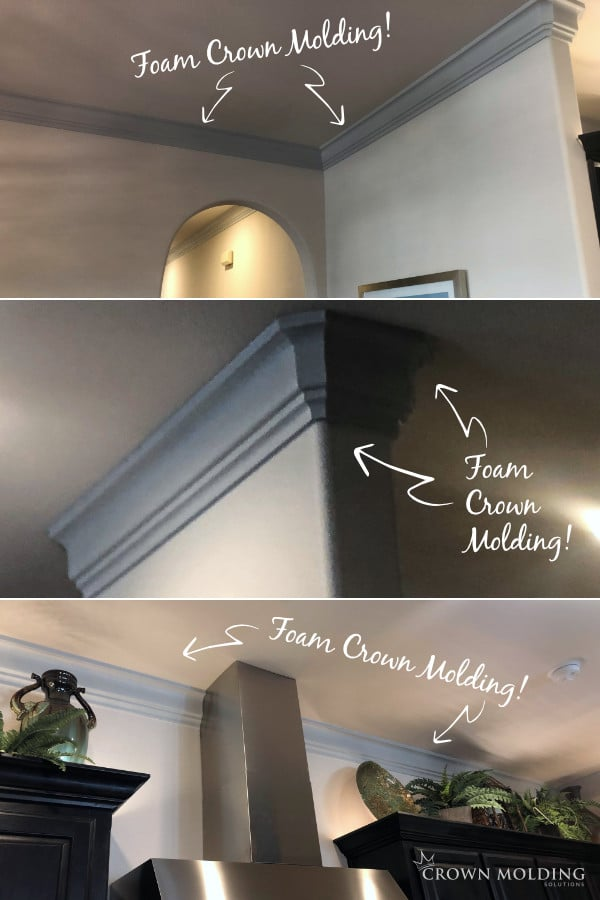 Foam Crown Molding in Irving, Tx Home