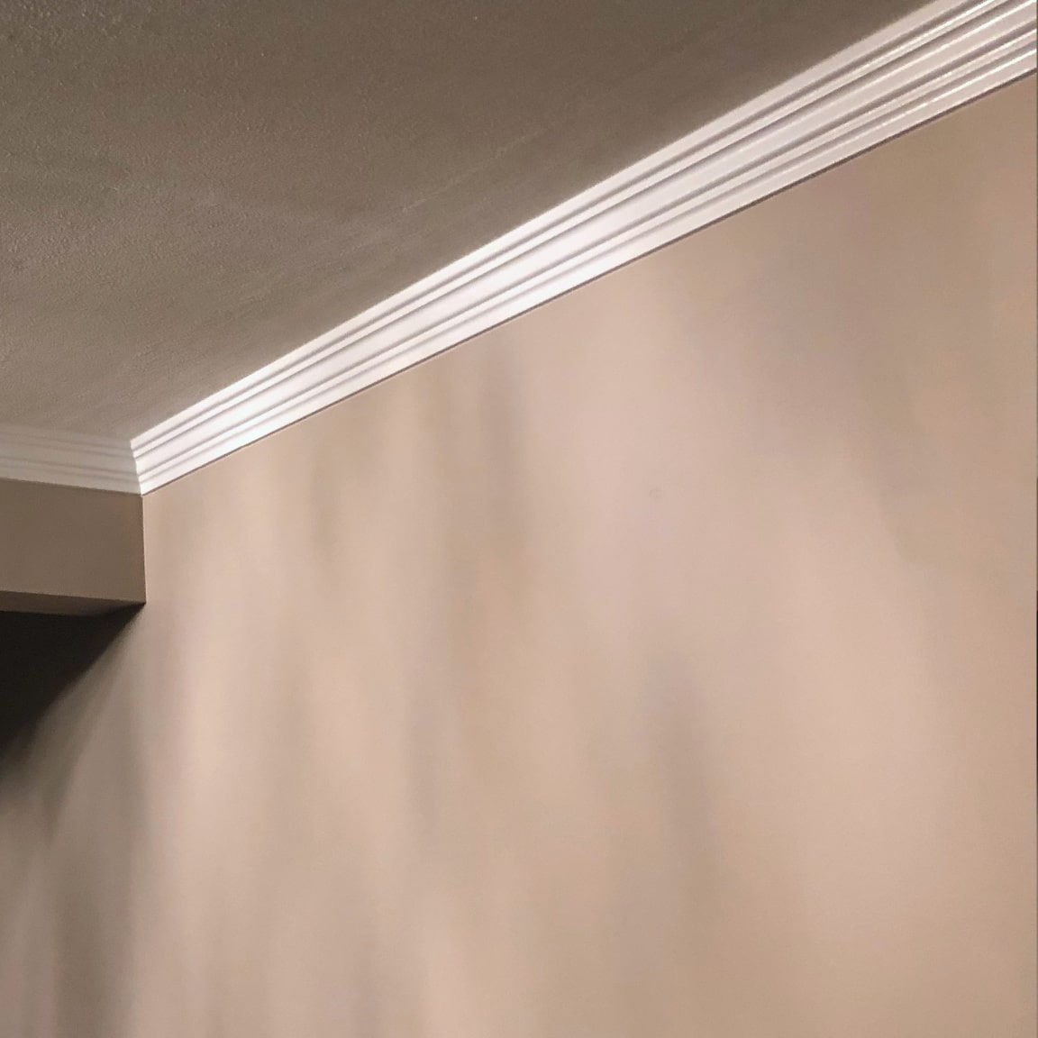 Foam Crown Molding in Connecticut Home