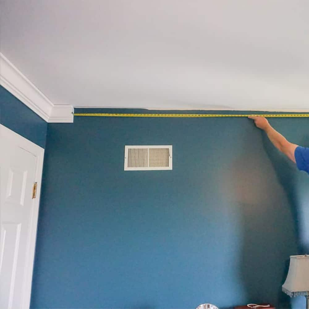 A Turtles Life for Me Blog - Measuring Between Crown Molding Corners